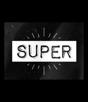 Black & White Cards - Super