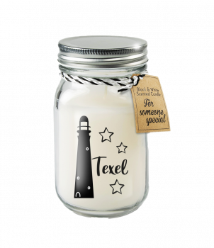 Black & White scented candles - Texel