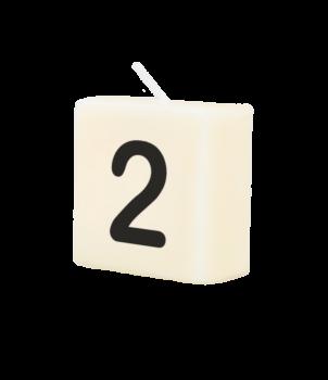 Letter Kaarsje - 2
