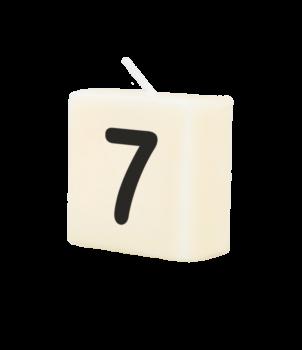 Letter Kaarsje - 7