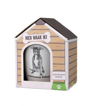 Dog mug - Amerikaanse Pitbull