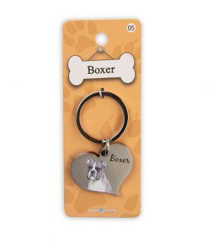 Dieren sleutelhangers - Boxer