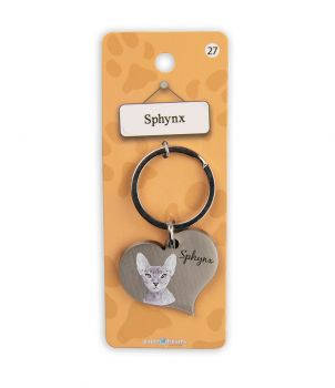 Dieren sleutelhangers - Sphynx