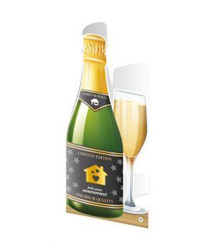 Champagne kaart - Samenwonen