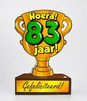 Trofee kaart - 83 jaar