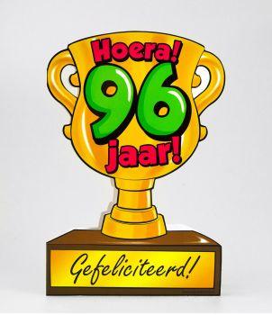 Trofee kaart - 96 jaar